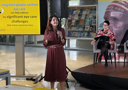 Launch of World Report on Vision