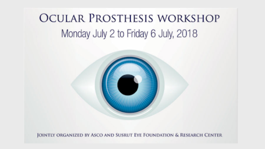 Ocular Prosthesis Workshop poster