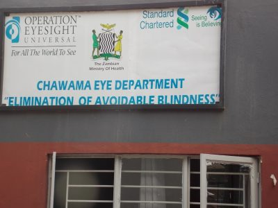 Strategic collaboration among Operation Eyesight, Seeing is Believing and the Zambia Ministry of Health played a key role in ensuring eye care services were successfully integrated into the primary eye care system. Chawama is currently constructing a new first-level hospital that will house a bigger, modern eye department – which means we'll be able to provide quality eye care services to even more people, for decades to come.