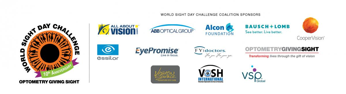 Optometry Giving Sight World Sight Day Challenge