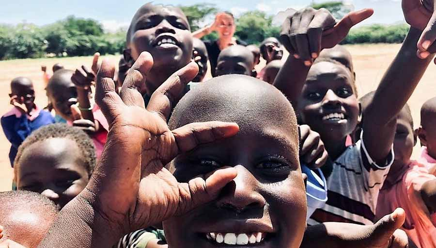"WSD Photo Competition: Popular Picks At the IAPB Council. Photo: ""I see you"", by Silvia Garcia, Turkana Eye project--Amateur Submission."