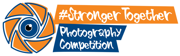 #StrongerTogether Photo Competition logo