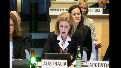 Australian representative at WHA EB