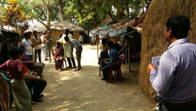 RAAB in the camp/ Story: RAAB Survey Completed in Rohingya Refugee Population, Cox Bazaar, Bangladesh