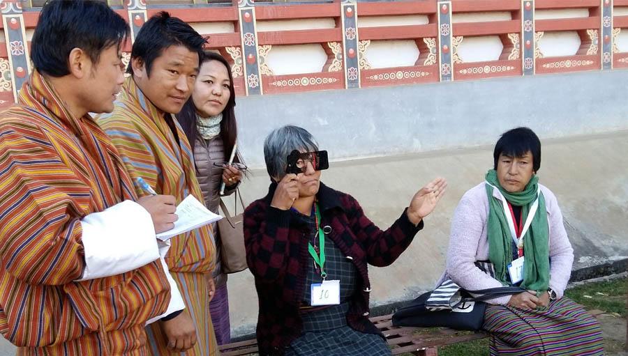 Bhutan mRAAB training