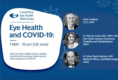 COVID-19 & Eye Health Webinar Series on Eye health's role and response during the current COVID-19 pandemic
