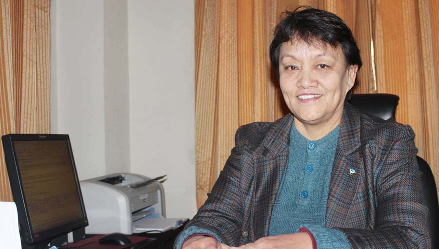 Reeta Gurung; Eye Health Hero 2017, TIO