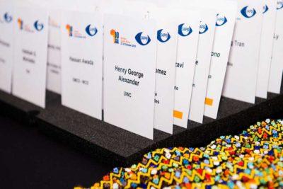 Registration cards from 10GA