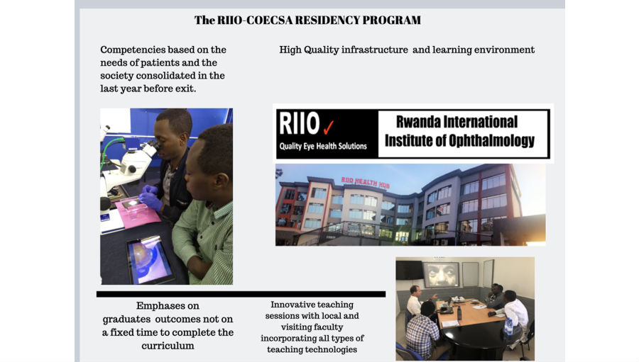 Residency Programme/Story: Introducing COECSA's new Competence Based Residency Programme at RIIO School of Ophthalmology, Rwanda