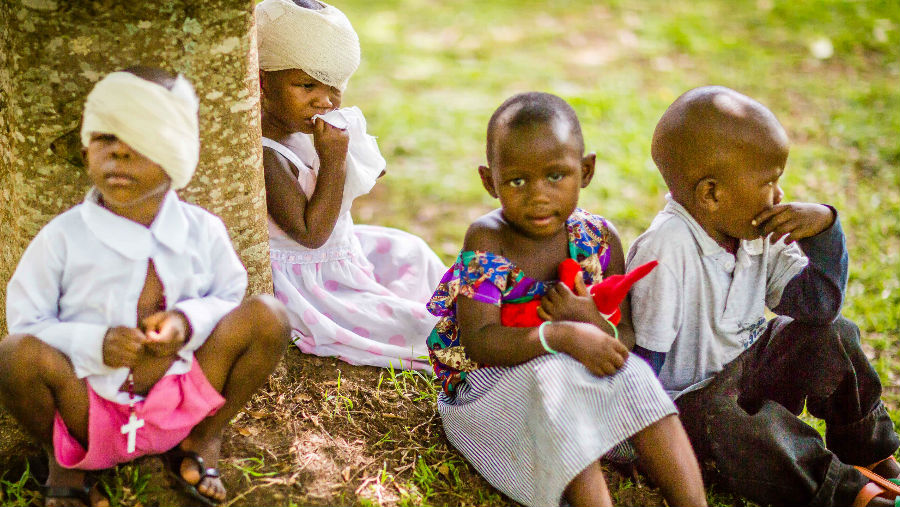 $1bn Vision Catalyst Fund to be established for populations across the Commonwealth/ Image: Children recovering after retinoblastoma