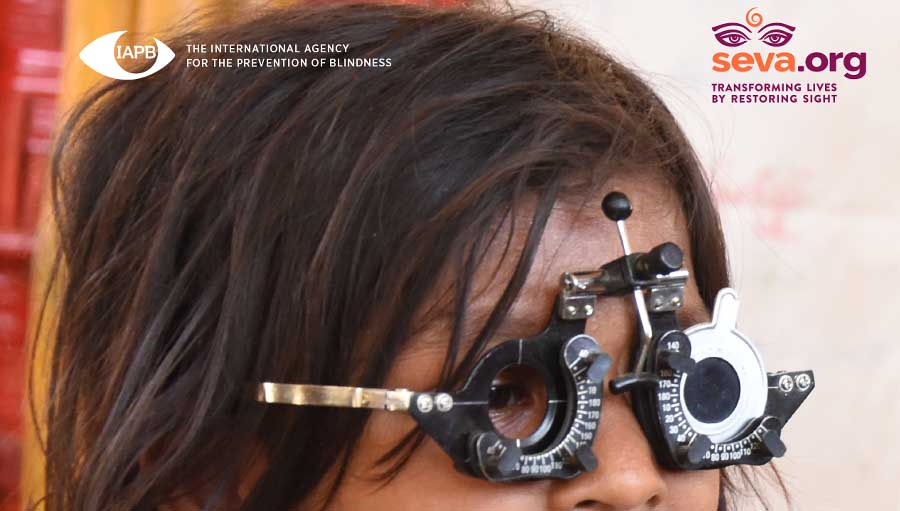 Report Highlights Eye Health Concerns of Rohingya Refugees. Portion of the Cover, Situation Analysis report.