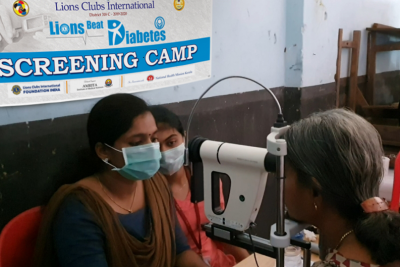 Screening camp