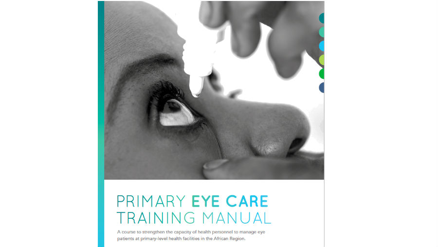 Screenshot of Primary Eye Care Training Manual