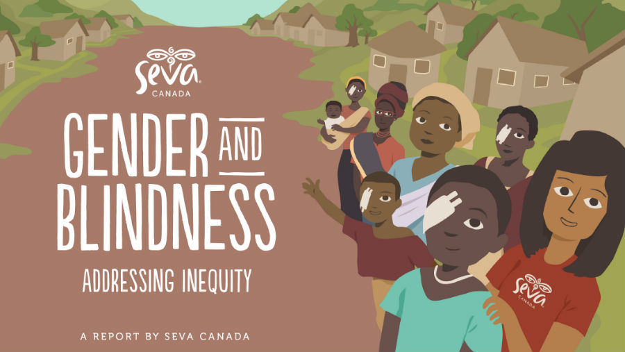 Seva Canada Gender and Blindness Report cover screenshot