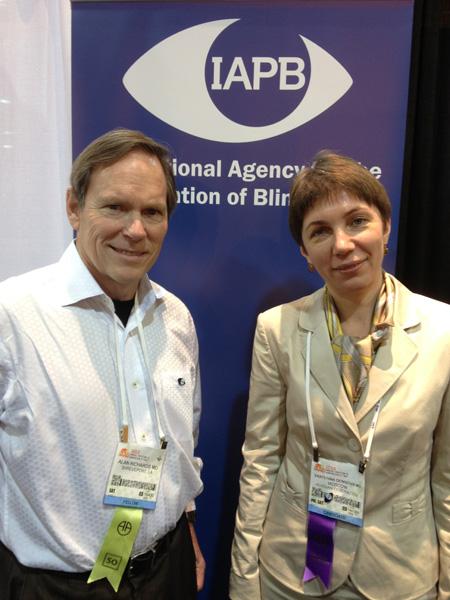 Dr Alan Richards, Shreveport sees Russia and Dr Denisova