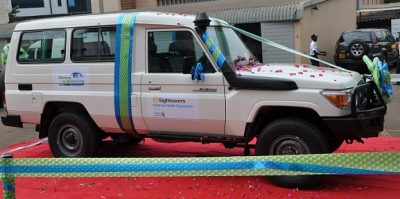 SiB branded vehicles
