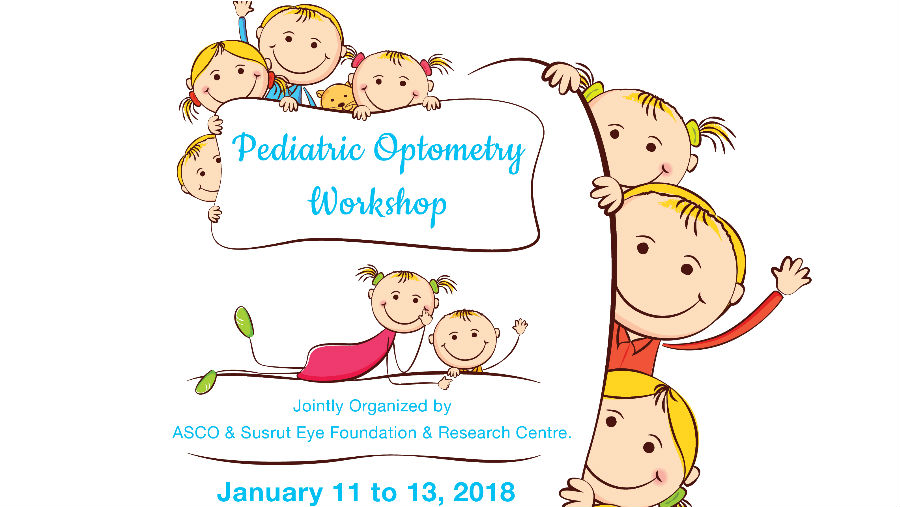 Pediatric Optometry Workshop at Susrut Eye Foundation & Research Centre