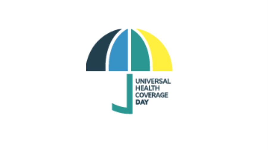 Uniting for collective action. UHC Logo/ Story: Commemorating Universal Health Coverage Day.