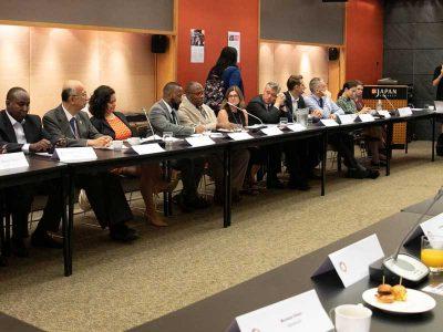 Participants at HLPF 2019