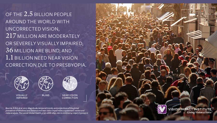 Vision Impact Institute infographic