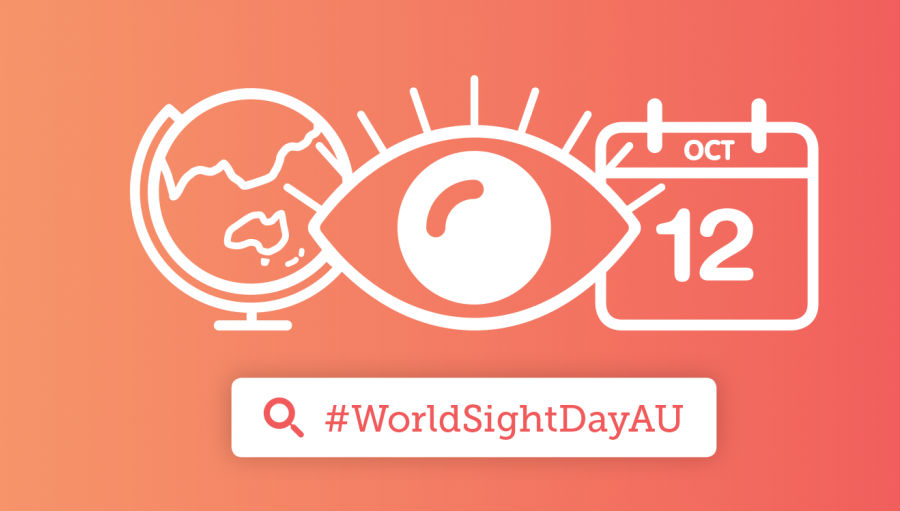 Australians encouraged to think of their sight on World Sight Day/ Photo VISION 2020 Australia World Sight Day logo