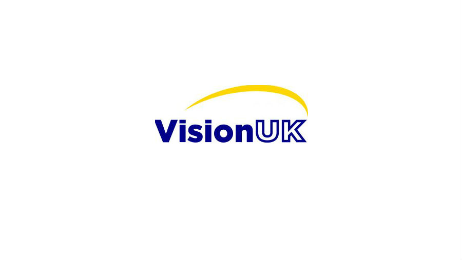Launch of Vision UK underway, Image: Vision UK logo