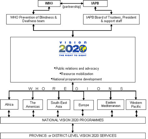 VISION 2020 structure