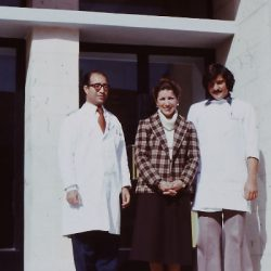 Victoria at SJEH in Jerusalem, 1979