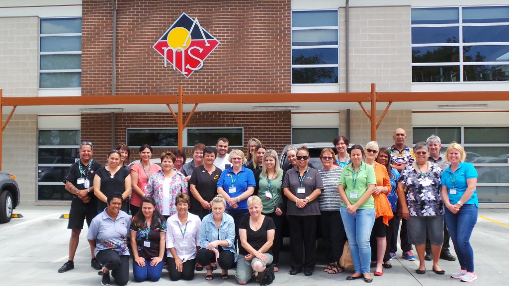 Australia's Aboriginal vision programmes. Primary Health Care Workers in Eye Health training for Western NSW Primary Health Care workers conducted at Orange AMS (Aboriginal Medical Service)