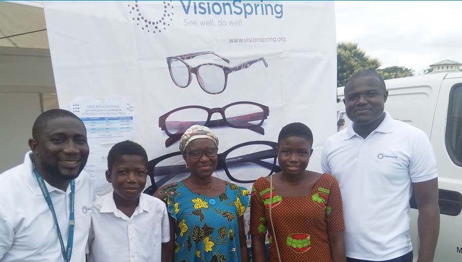 The Power of the Collective. Photo from VisionSpring Ghana.