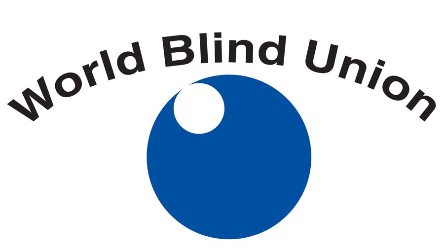 Jan 4: World Braille Day; World Blind Union logo
