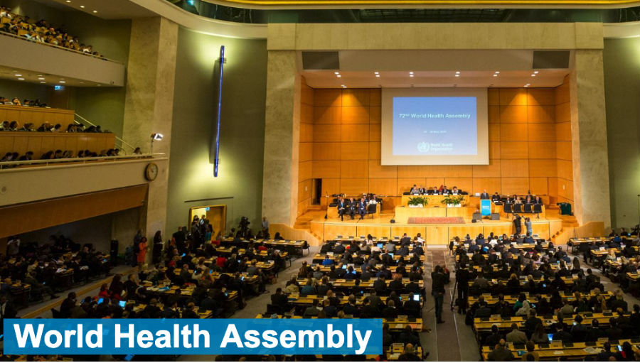 Image: 72nd WHA/ Story: World Health Assembly Update: Resolutions on PHC, CHW, and UHC