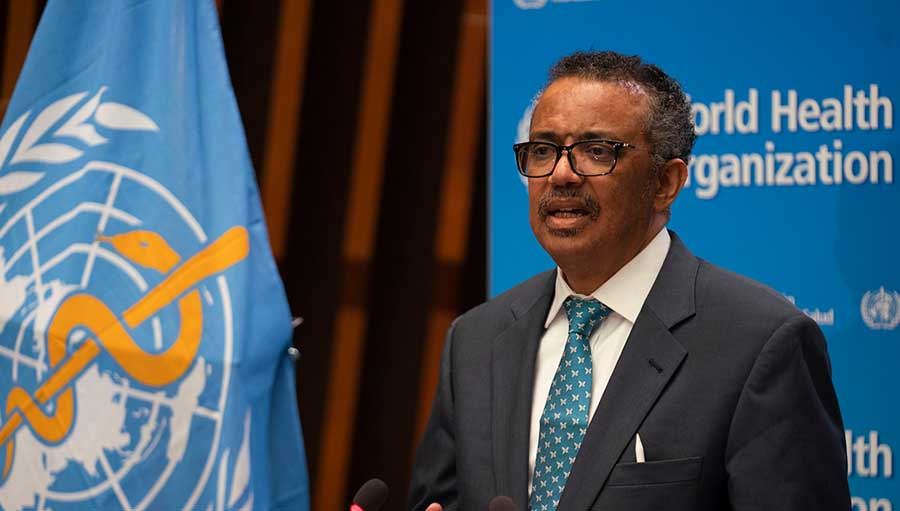 WHA 73 - COVID-19, eye health and IAPB statement on behalf of the global eye care sector; Dr Tedros, WHO