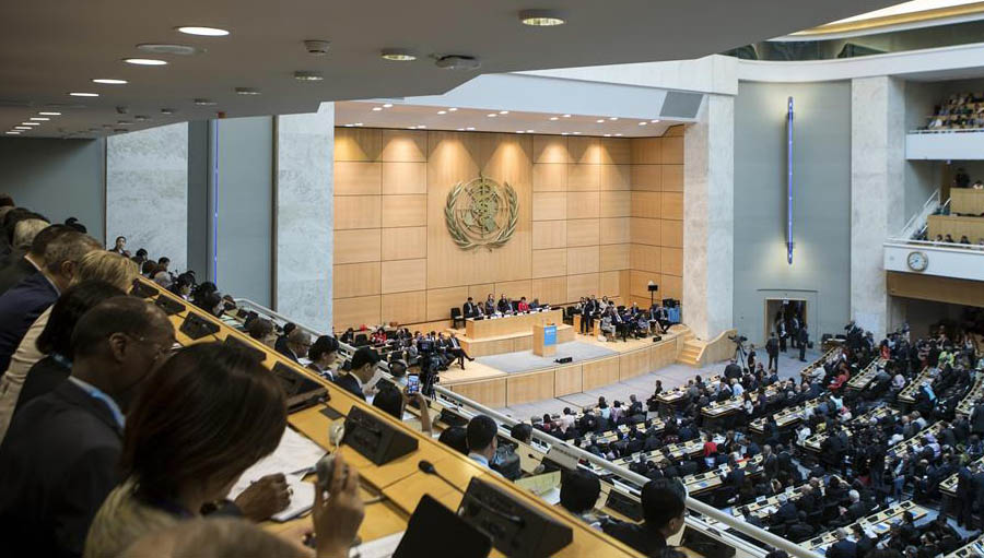 The 71st World Health Assembly: a new Strategy and a cross-roads for eye health. WHA 71