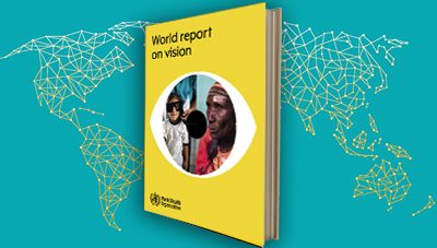The World Health Organisation launched its first World Report on Vision