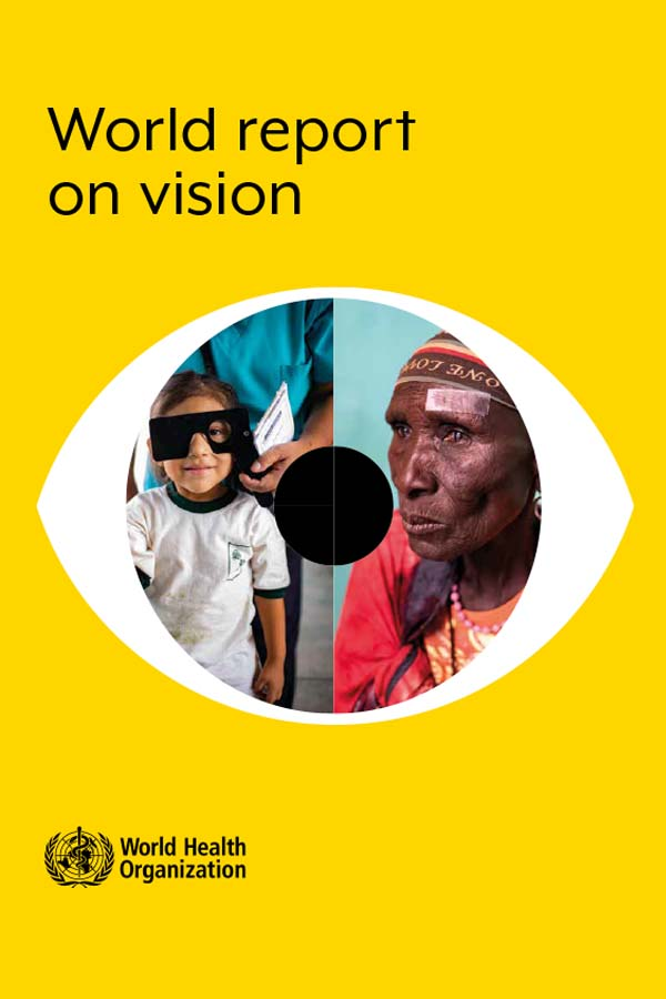 World report on vision cover