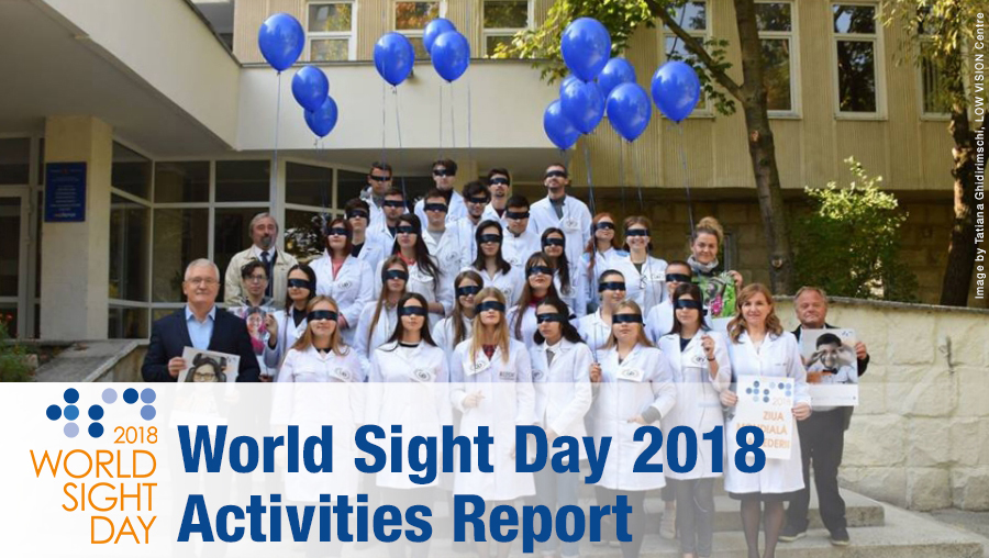WSD 2018 Activities Report Cover from LOW VISION Centre Moldova