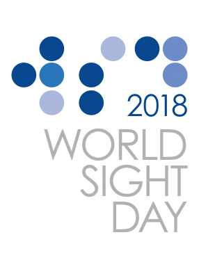 World Sight Day 2018 Logo - English Grey