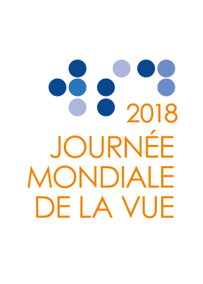 World Sight Day 2018 Logo - French Orange