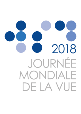 World Sight Day 2018 Logo - French Grey