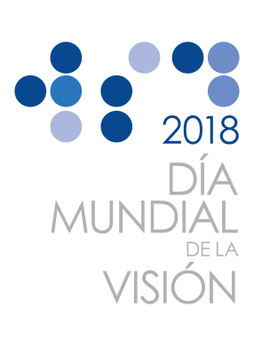 World Sight Day 2018 Logo - Spanish Grey