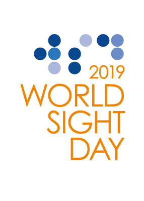World Sight Day 2019 logo - Orange
