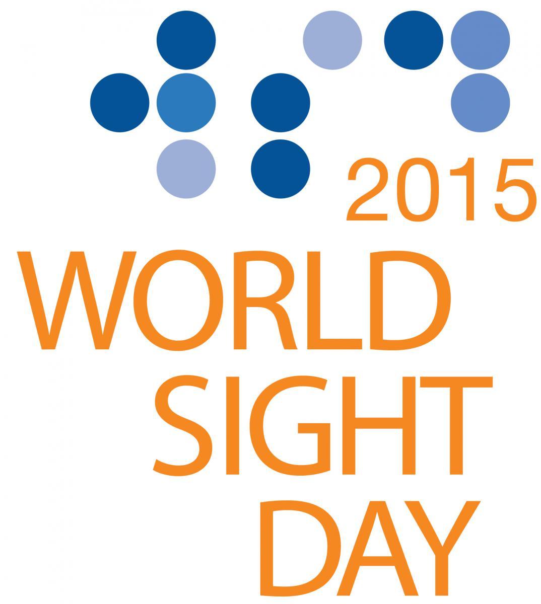 World Sight Day 2015 logo