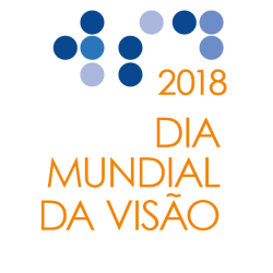 World Sight Day Logo 2018 in Portuguese (Orange)
