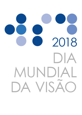 World Sight Day Logo 2018 in Portuguese (Grey)