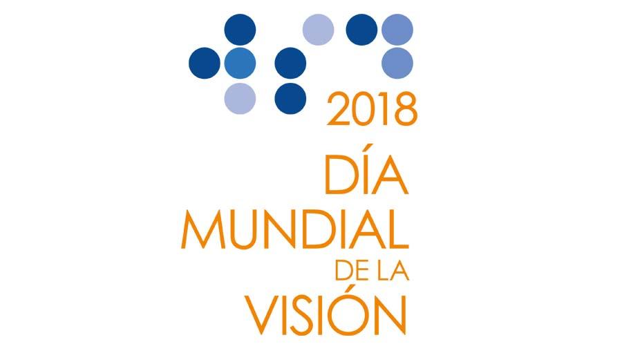 Mensaje Para Promover El Dia Mundial De La Visión 2018. WSD18 Spanish logo