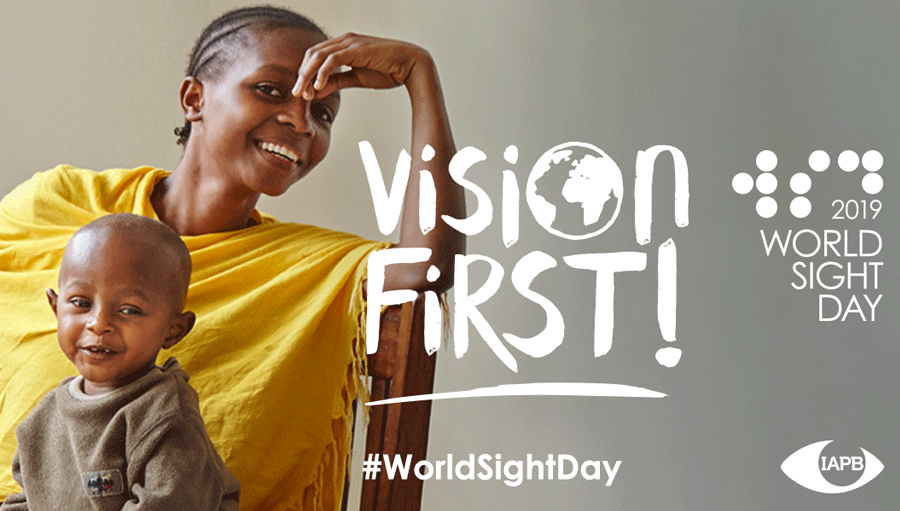 World Sight Day 2019. WSD19 material 900x511