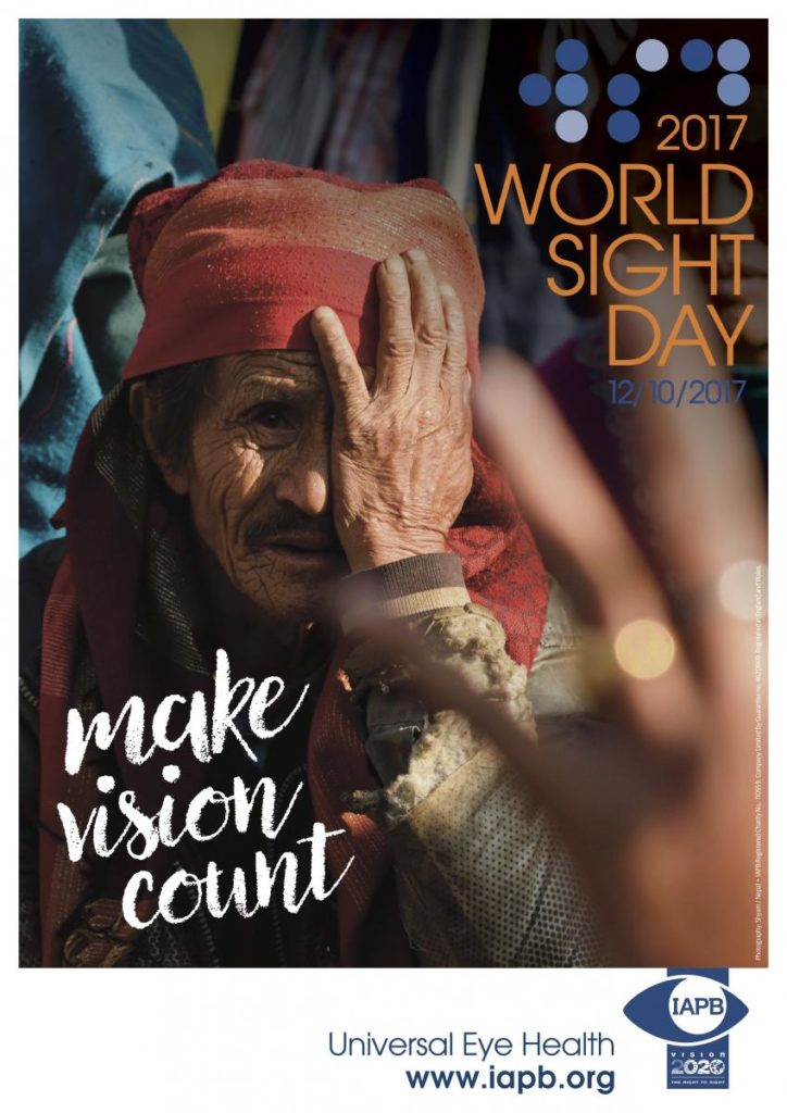 World Sight Day 2017 Poster