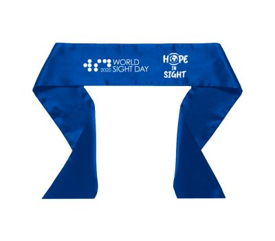 World Sight Day (WSD) Blindfold Ribbon