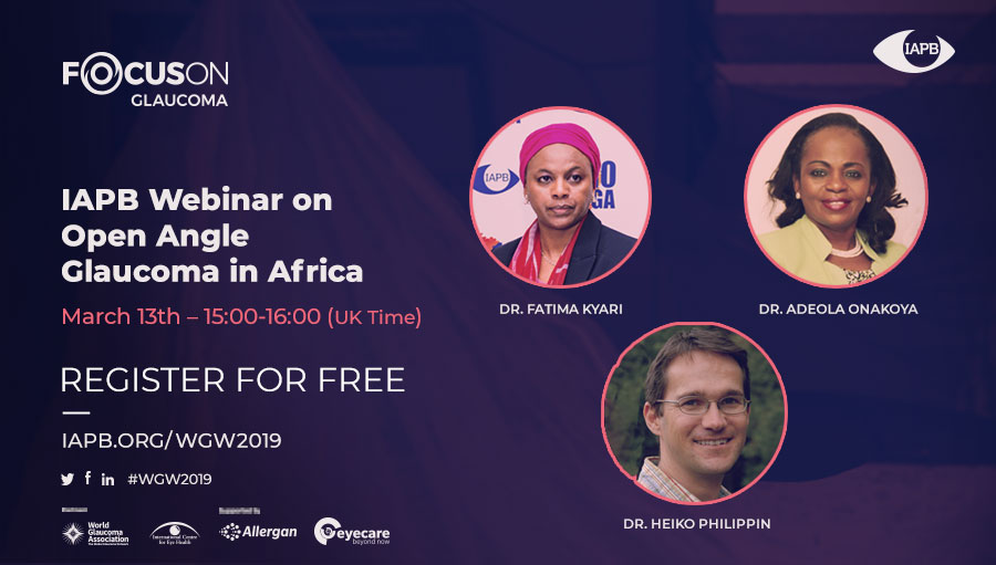Focus On Glaucoma Webinar: Africa; speaker photos